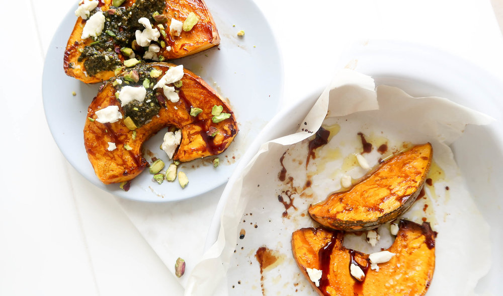 humble wholefoods  roasted balsamic pumpkin