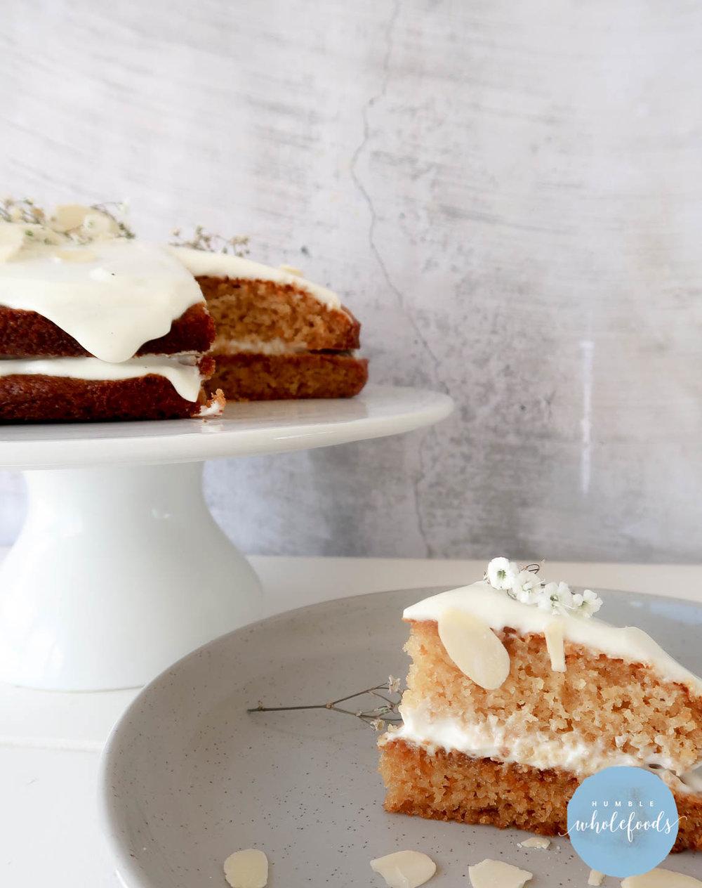 paleo almond coconut cake brisbane hens partys