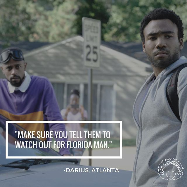 We're Ready for Some Darius Wisdom. . . .  #DearShowrunners #PodsinColor #MadeinDetroit #GoodTV #Podcast #TheWAVE #Quotes #TVQuote #QuoteFriday #Darius #AtlantaFX #FX