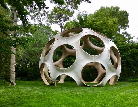 """Longhouse Reserve - Buckminister Fuller, """"Fly's Eye Dome"""", 1998"""