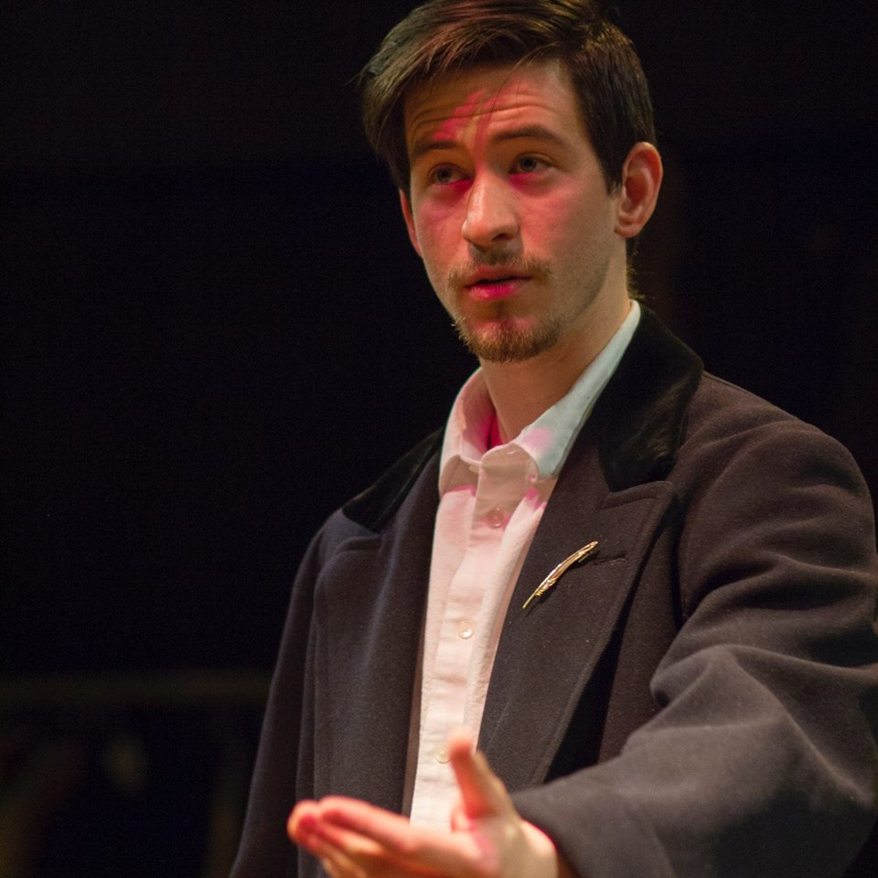 "Max as Timon in ""Timon of Athens"" at RADA"