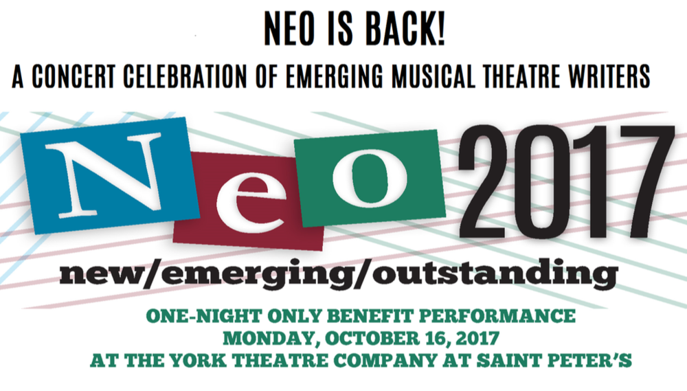 october 16th, 2017 | NEO Concert:The York Theatre Company - Sojourner performed some new music by Masi Asare at The York Theatre Company NEO Benefit Concert!