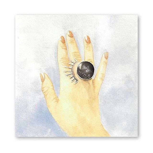 @ngo.ideas painted my lash ring!! I'm so honored! Original photo by @heyrachelb 🙌🏼☺️