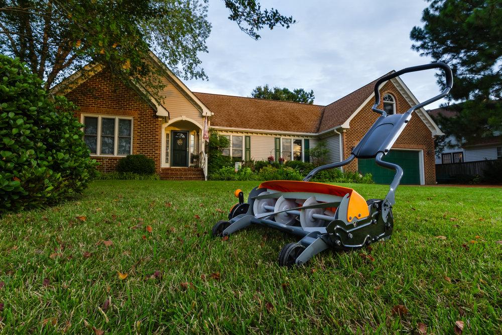 Reel Mowing, Chemical free Weeding, Organic Fertalizers & Amendments
