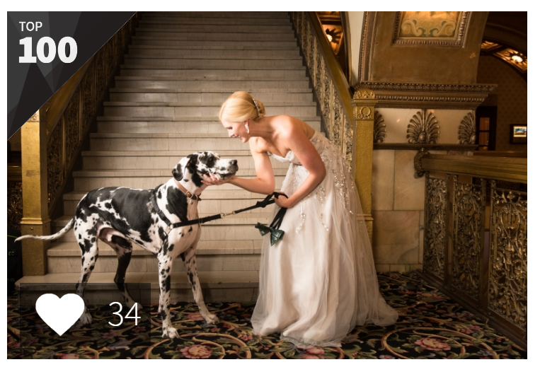 My highest scoring photo - 45th place out of nearly 14,000! Shot at the gorgeous Brown Palace.