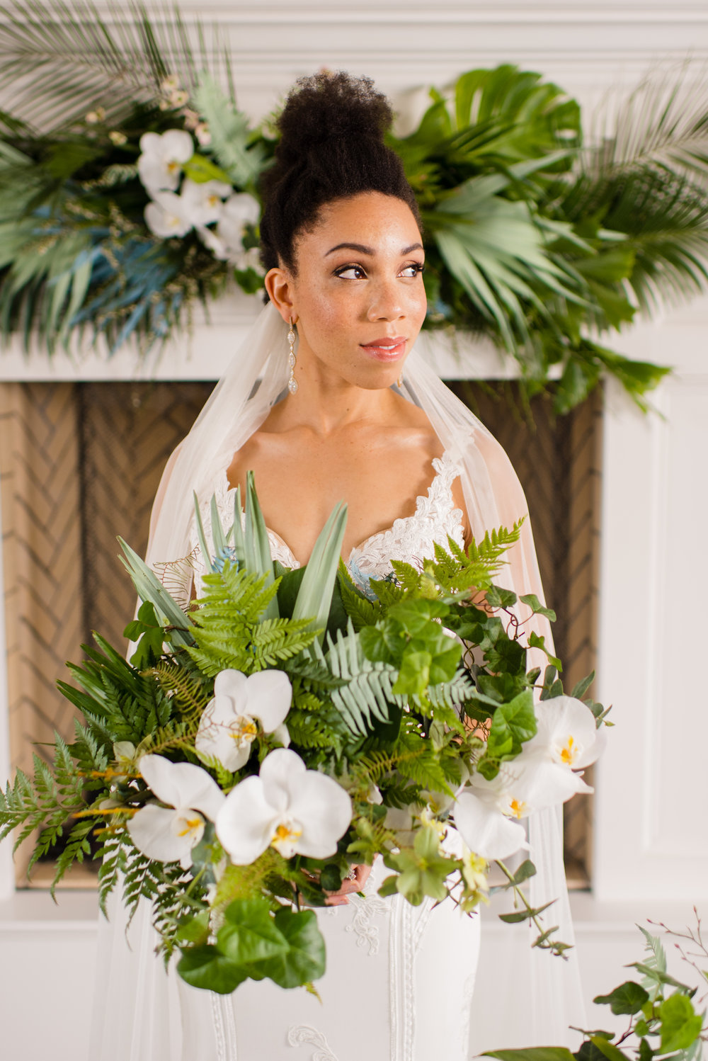 Cannot even deal with all this gorgeous greenery. And of course Dominique! Heart eyes for days.