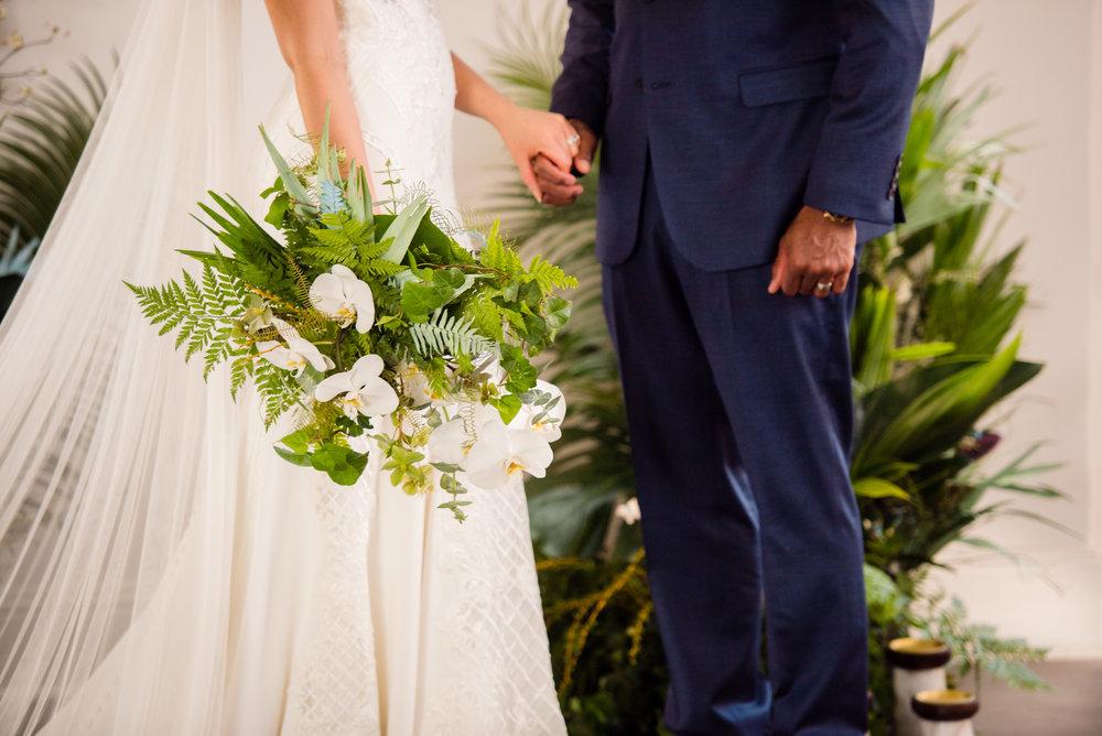 Those textures! The bouquet, the dress details, the veil. Love.