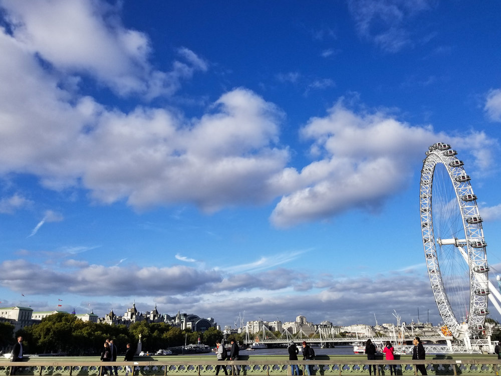 London Eye. You have to!
