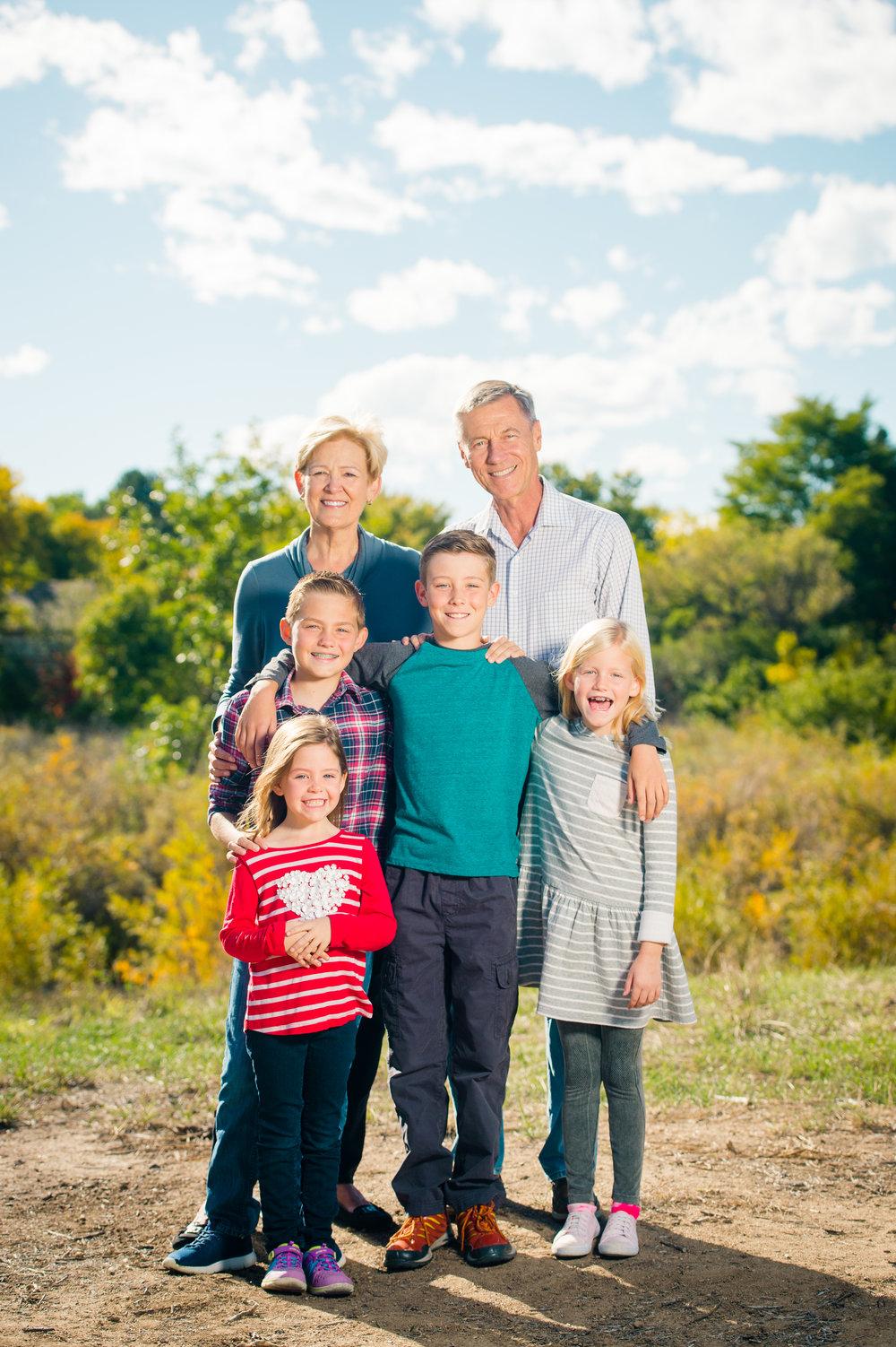 extended family photos denver