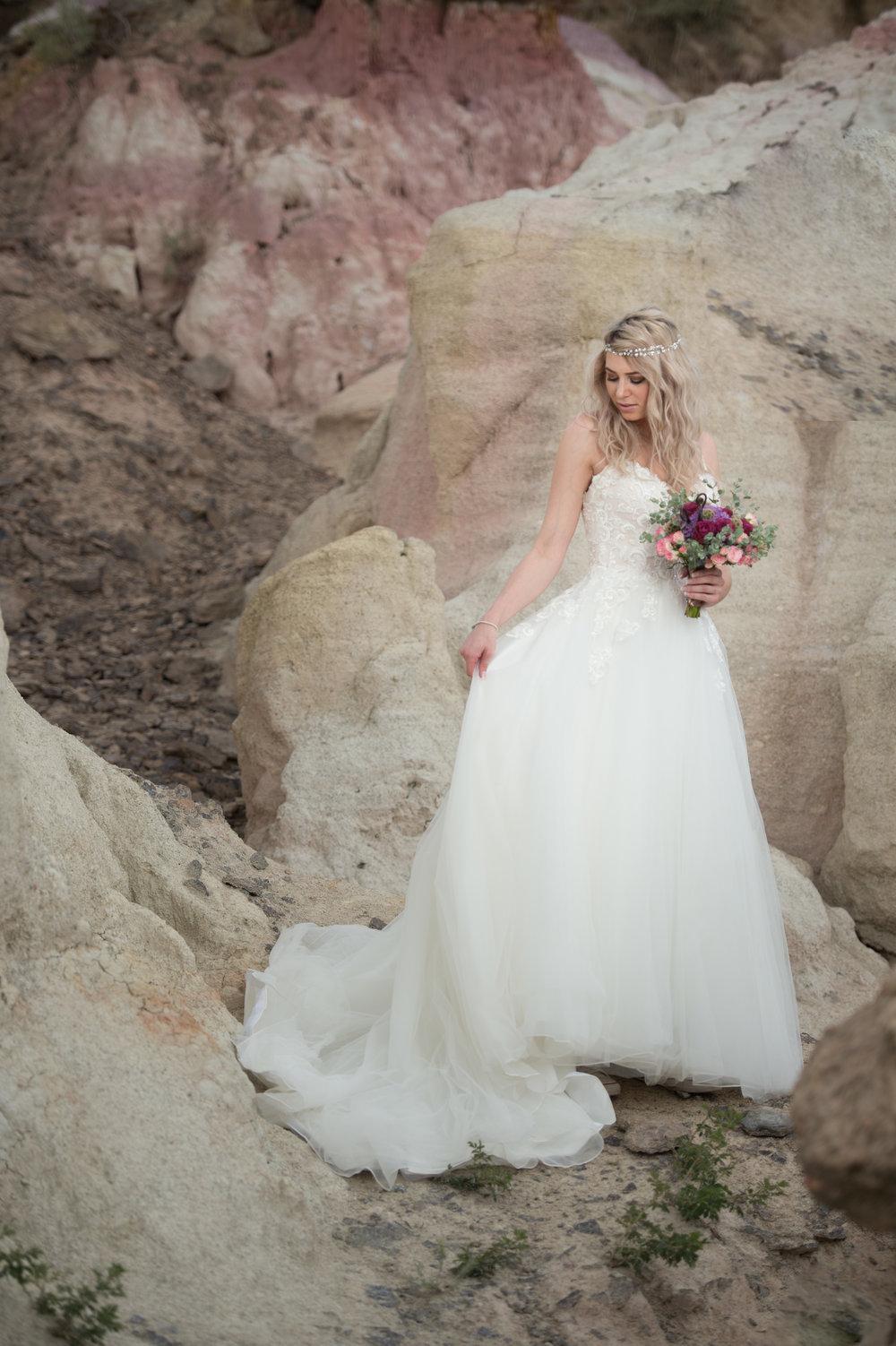 paint mines bride