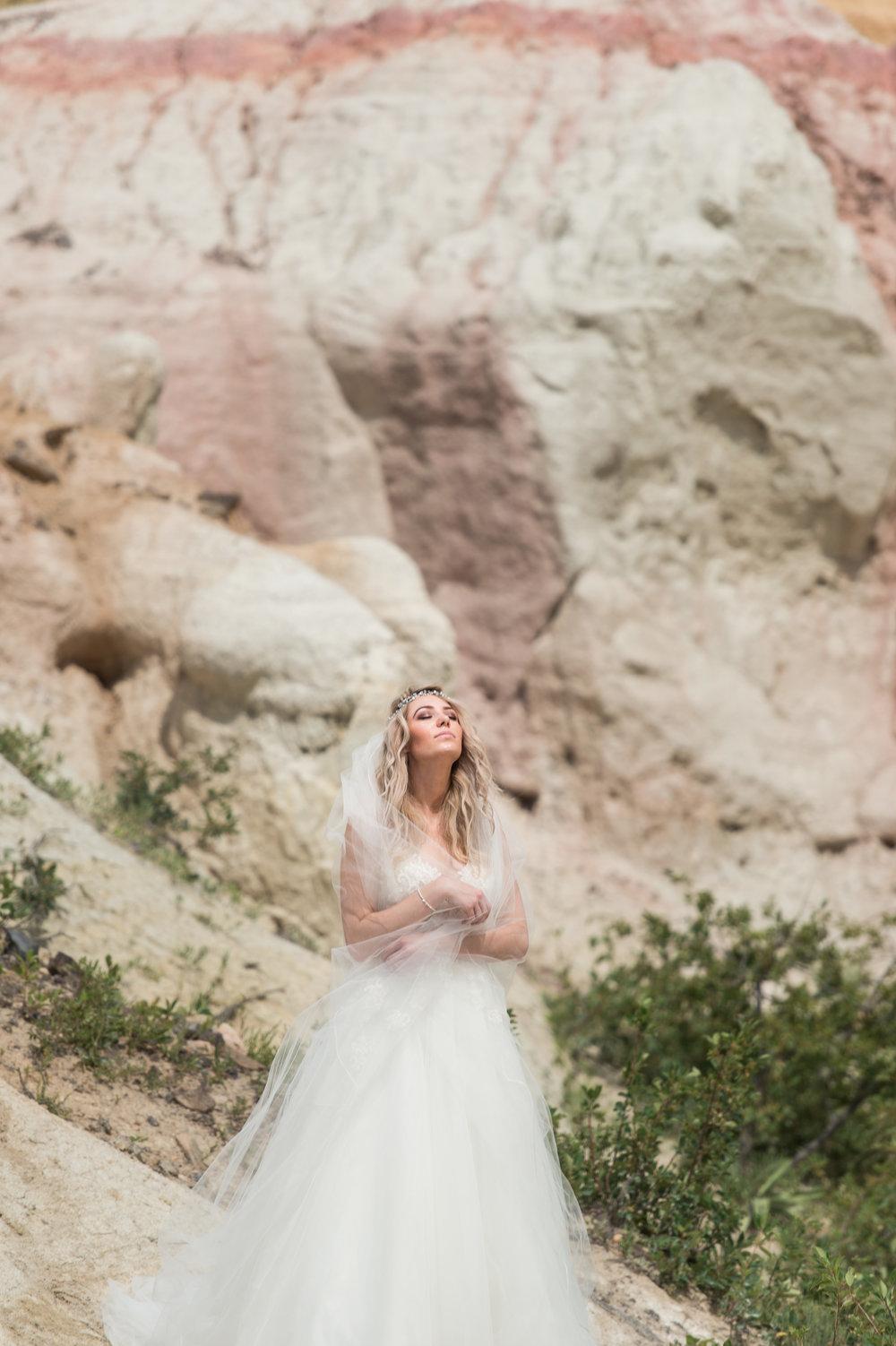 paint mines wedding photography