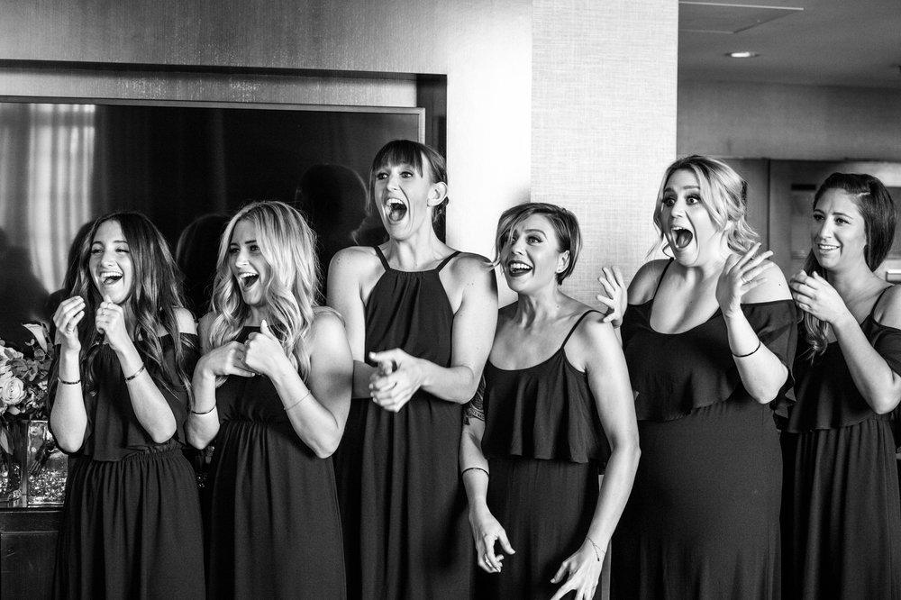 Bridesmaid Reveal at Grand Hyatt Denver!