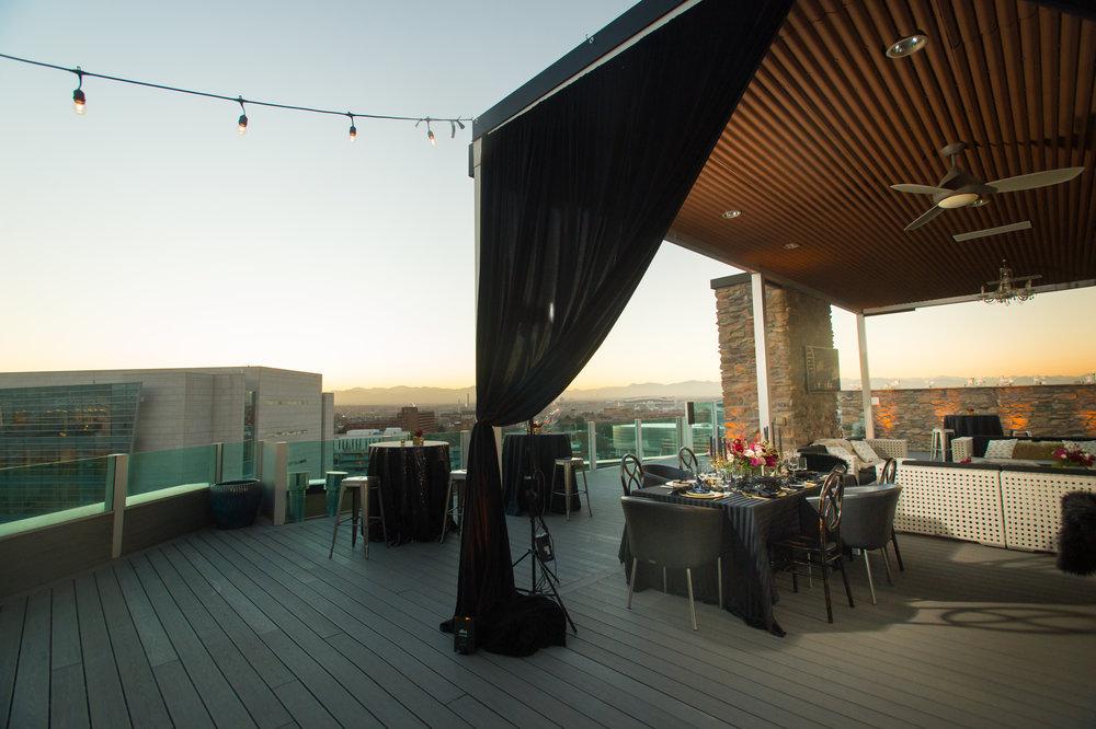 denver rooftop wedding reception venue