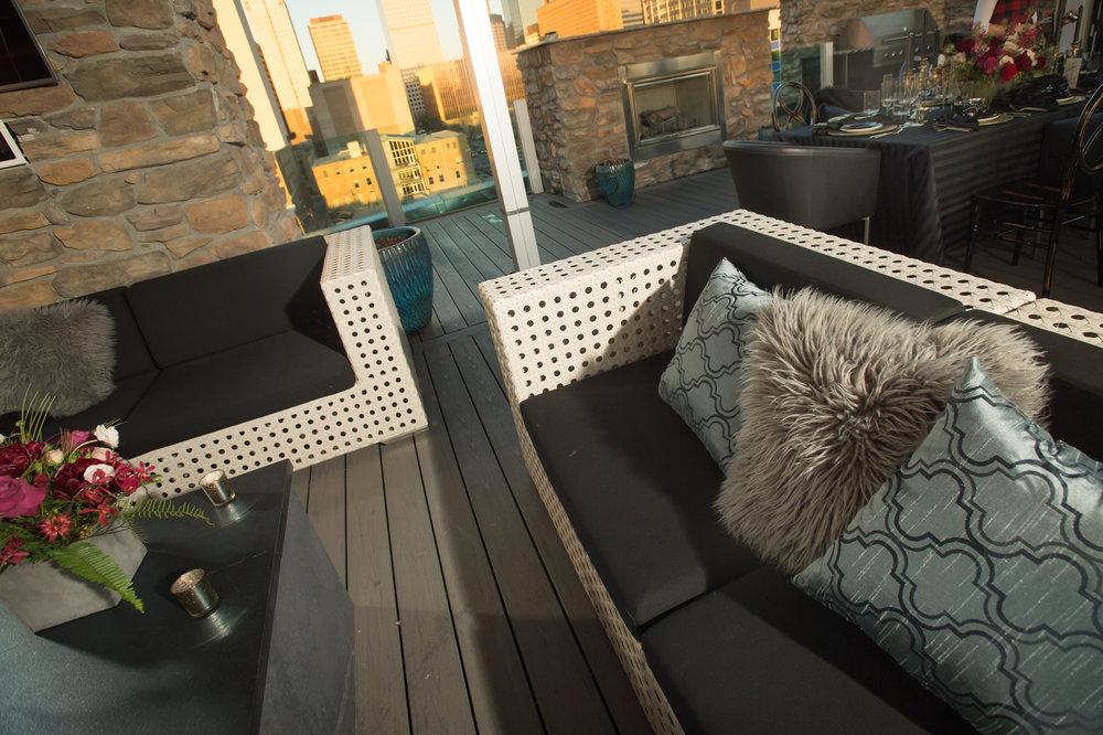 lounge area rentals denver