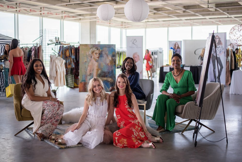 Conscious Couture Team: Laci McKinney, Maddie Measel, Emma Durham, Erica Molett, Sherilyn K Rudolph - Photographed by Si Creative Photography