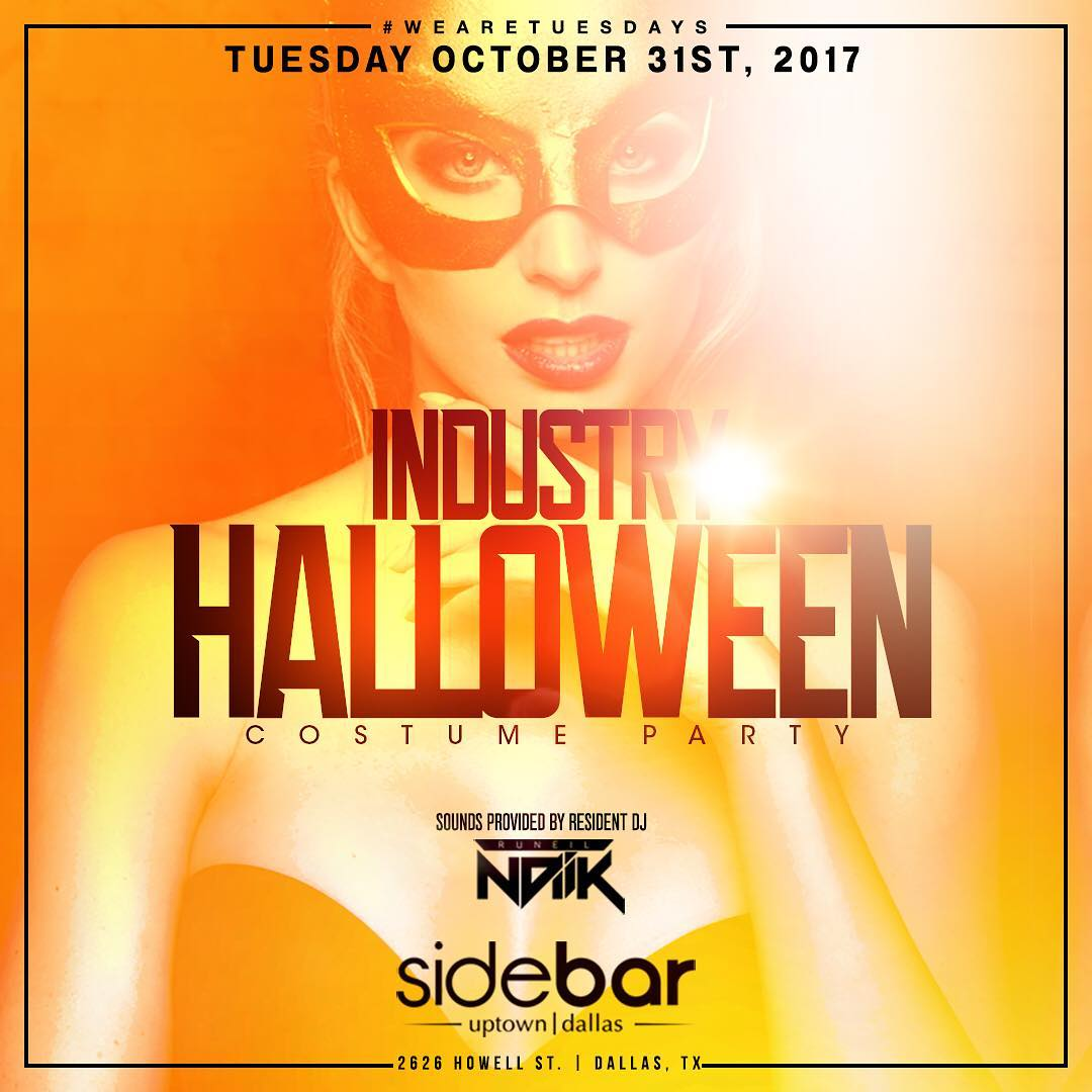 industry halloween costume party sidebar dallas tx