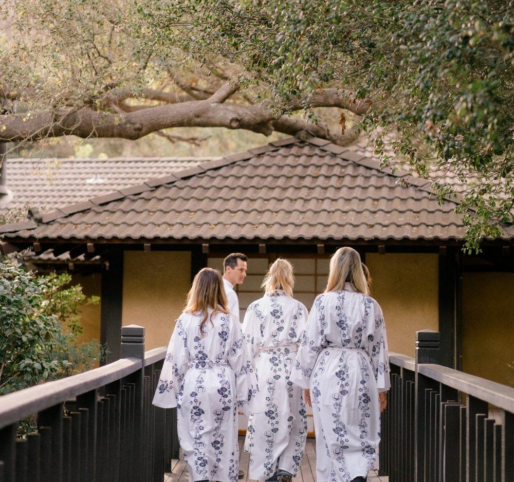 our visit to golden door spa — rosé + rattles