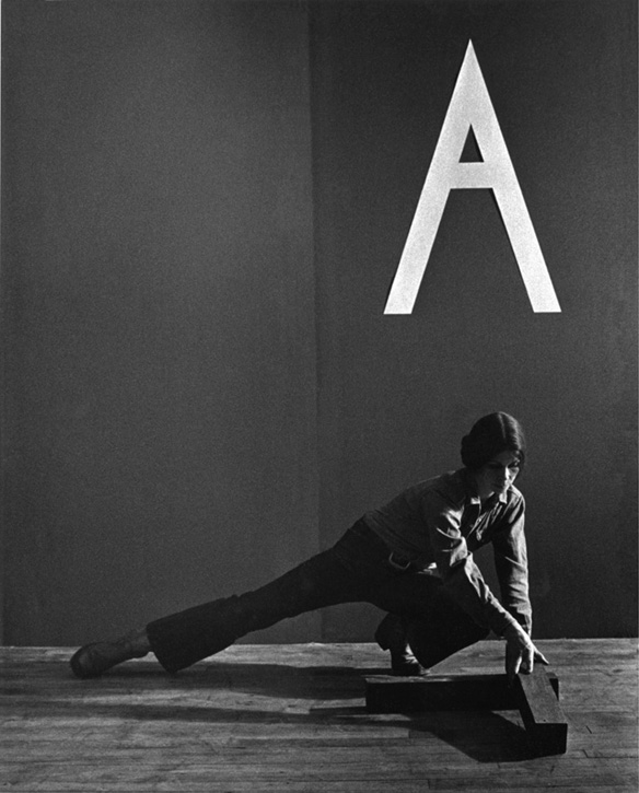 Art is Political  ( 1975 ) A nine-part black and white photographic series based on the narrative from  It's Still Privileged Art