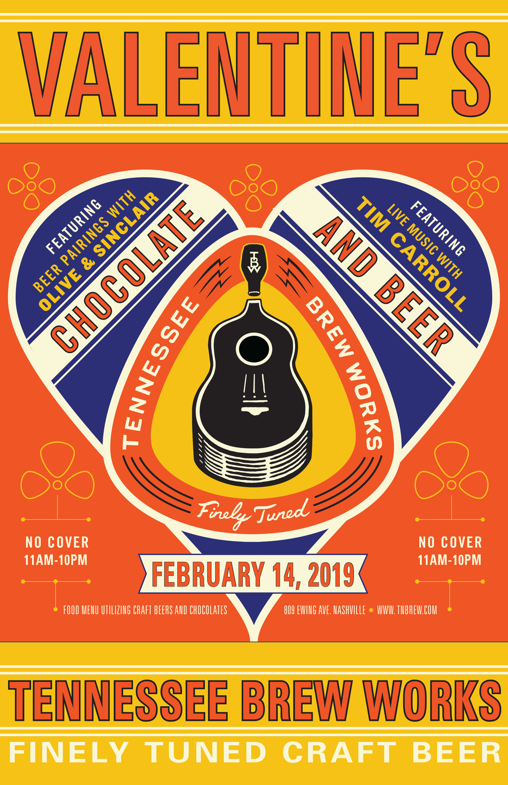 Valentine's at Tennessee Brew Works