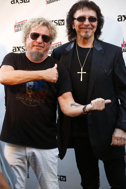 Sammy Hagar + Toni Iommi