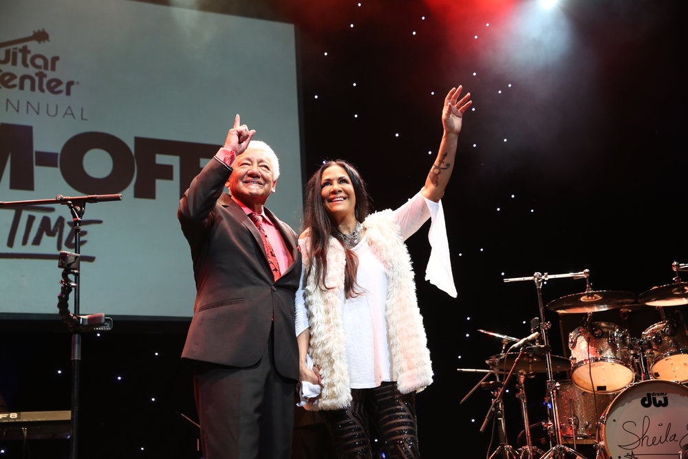 Pete Escovedo and Sheila E..JPG