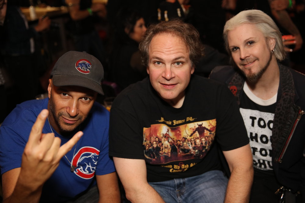 Tom Morello Eddie Trunk John 5.JPG