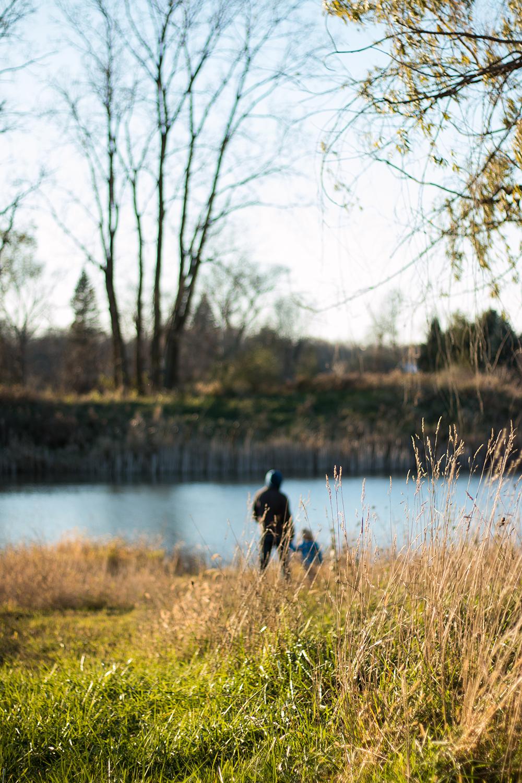 Michigan pond