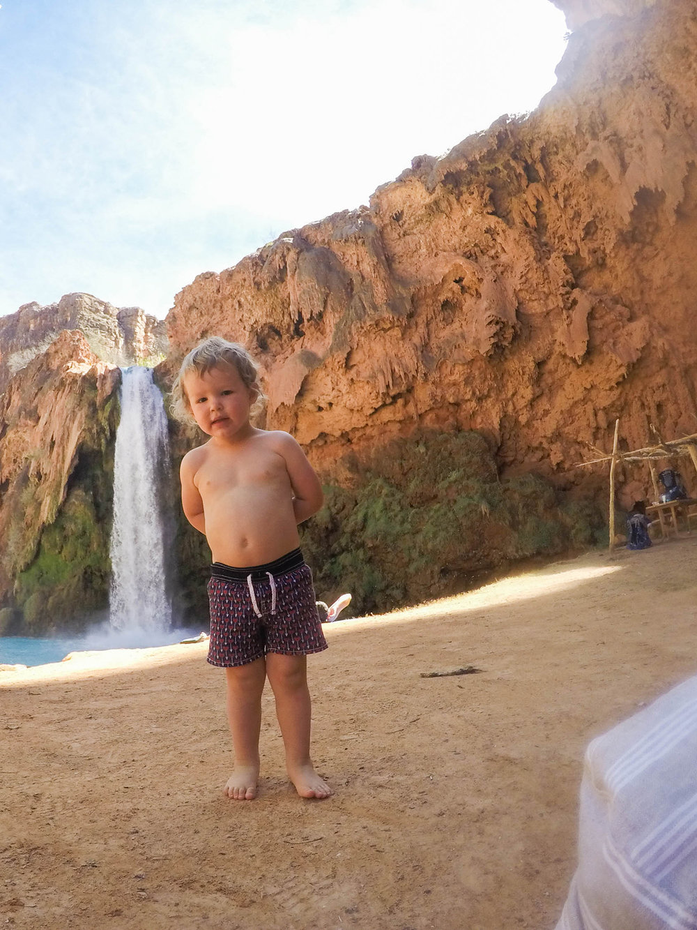 Havasupai Arizona with kids