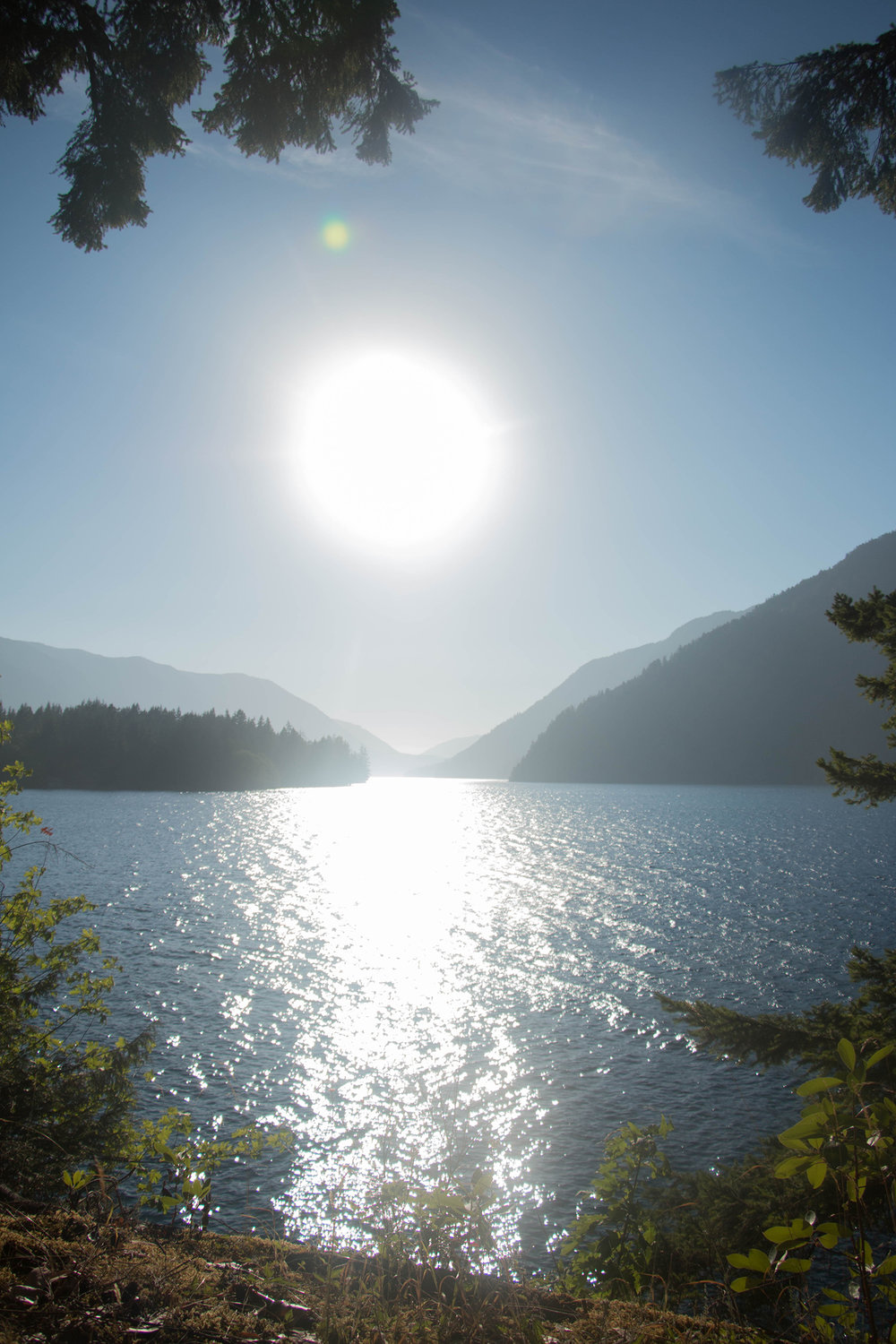 Crescent Lake, Olympic National Park (with toddlers)