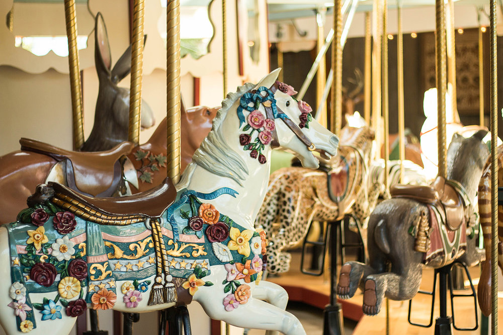 Butchart Gardens Carousel Victoria BC