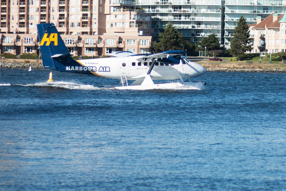 seaplane from fisherman's wharf, Victoria bc