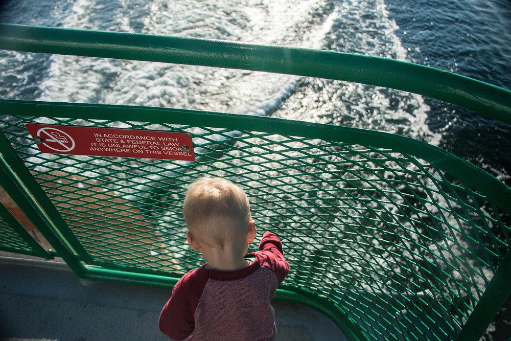 ferry to San Juan islands
