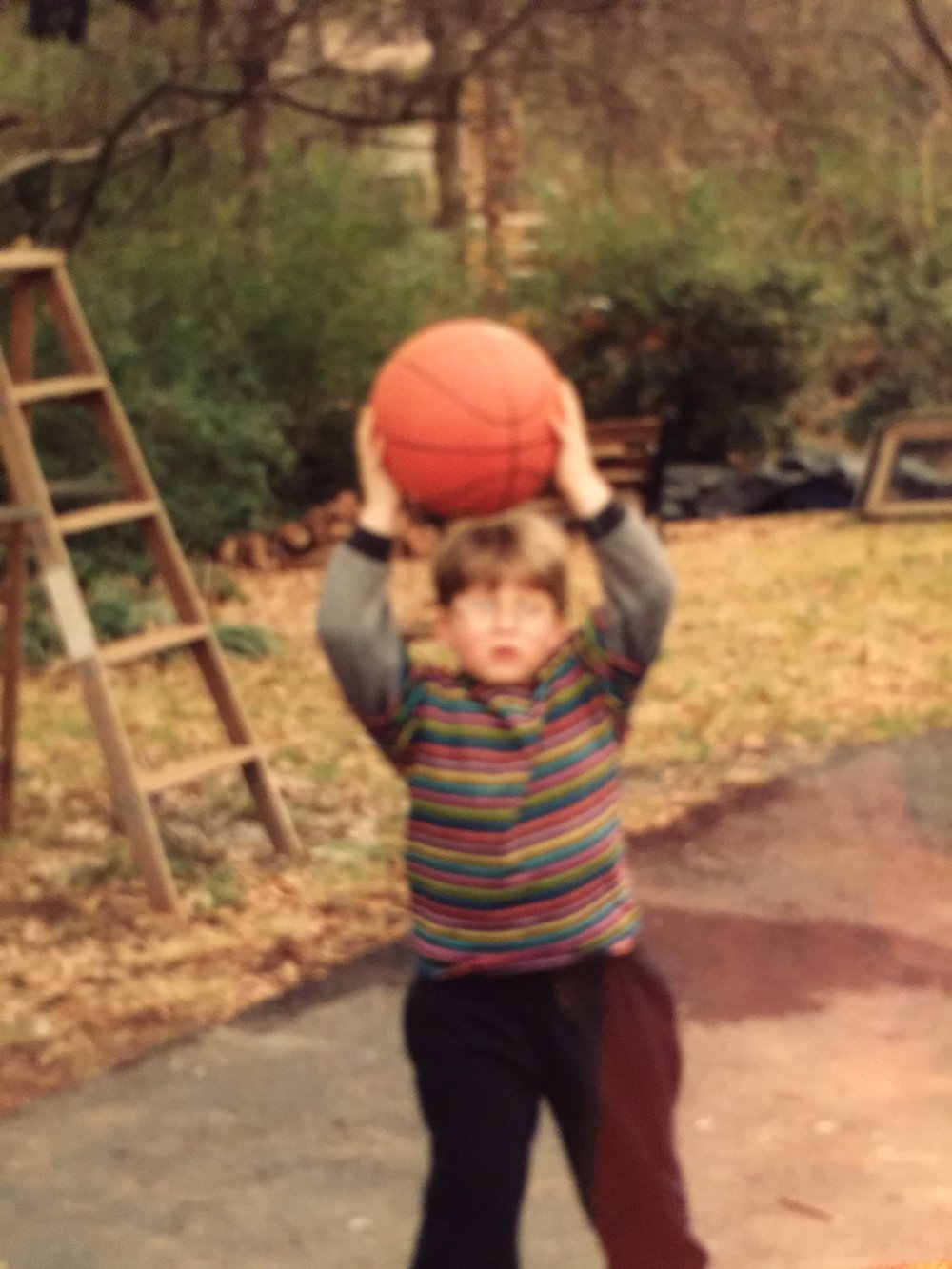 As A Kid, I Only Had One Dream... To Become An Athelte - I Loved Basketball!