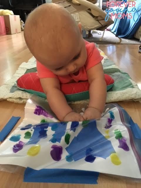 Baby Sensory Play Art Bag