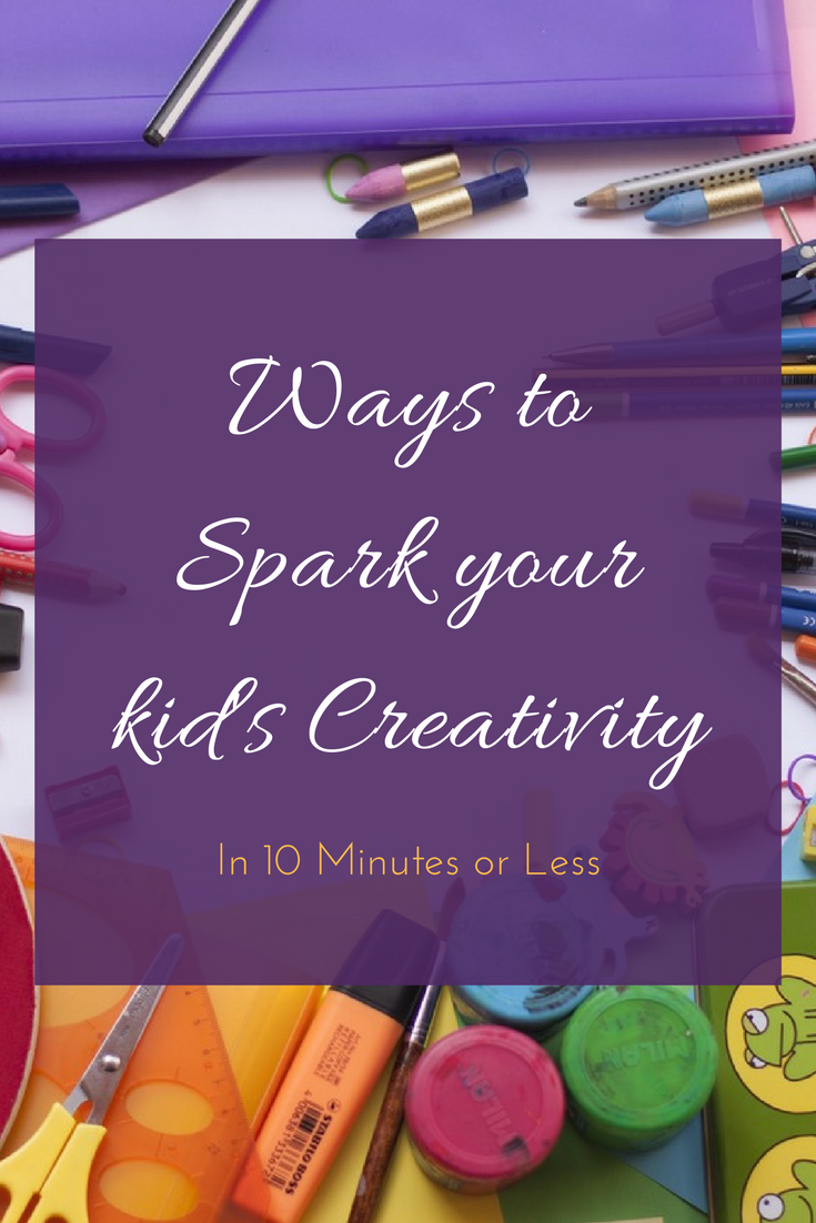 Ways to Spark Creativity in your Kids -makeit218.com