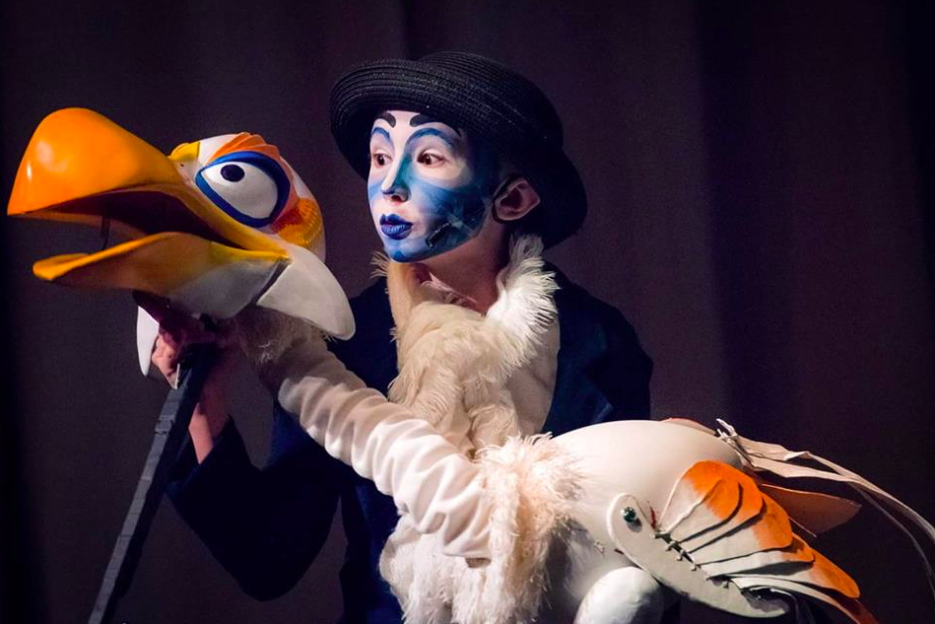 Zazu puppet by Megg   Photo: Kevin King
