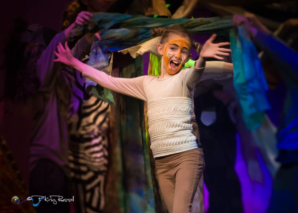 Young Nala, OYES' Lion King, Jr   Photo: Kirby Russel