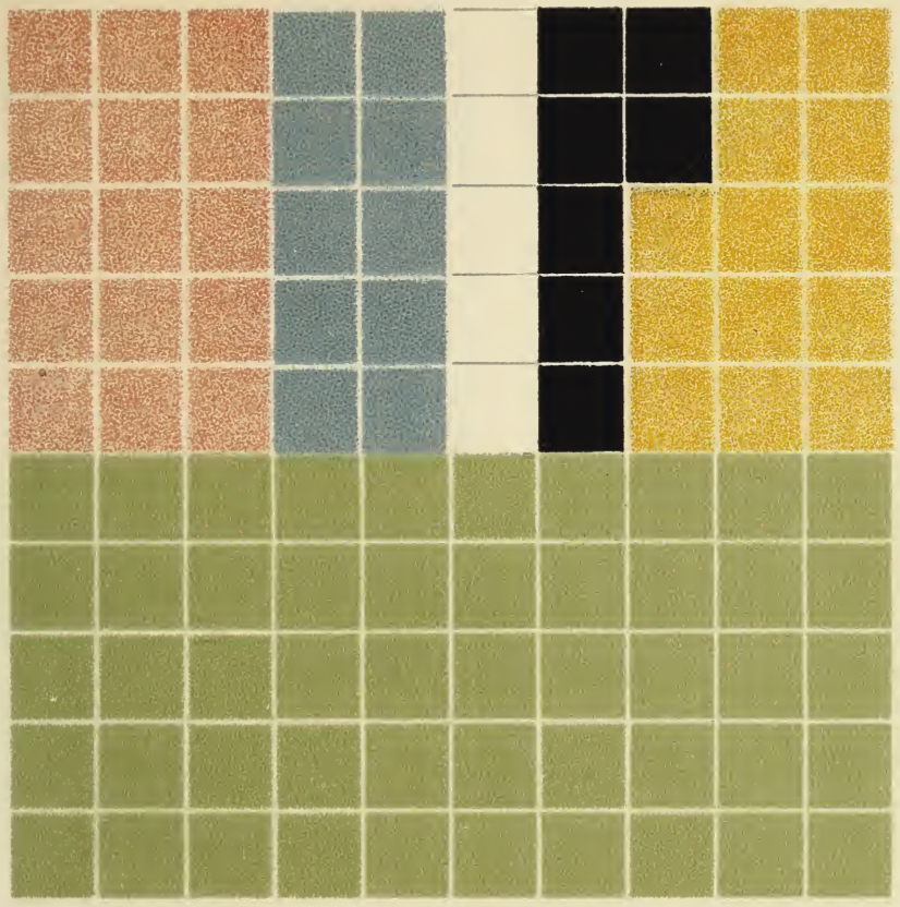 "Cover image: ""Antique Rug"", from Color Problems by Emily Noyes Vanderpoel (1903, public domain)."