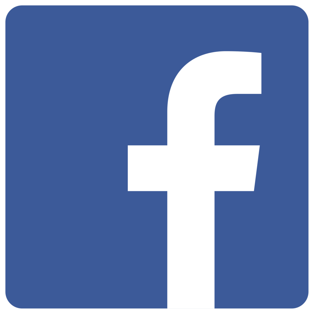 "[Image Description: Facebook's logo. A blue background and white lowercase ""f"".]"