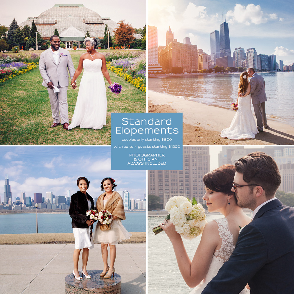 Chicago Elopement Packages Small Weddings Chicago