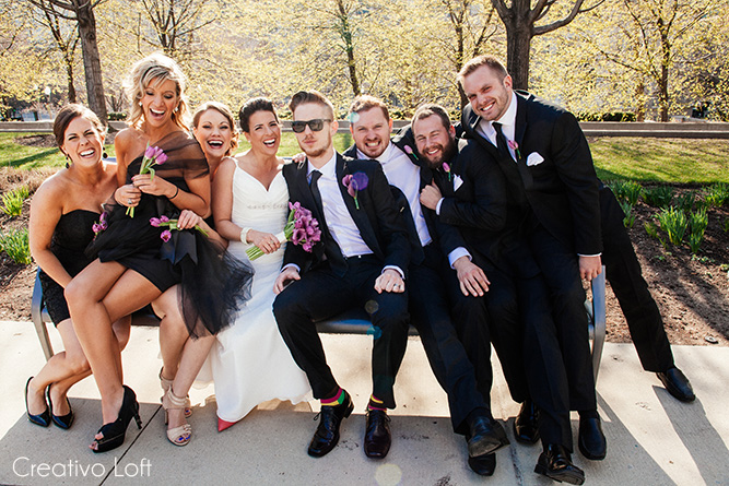 Purple Wedding Inspiration Spring 2015 — Small Weddings Chicago