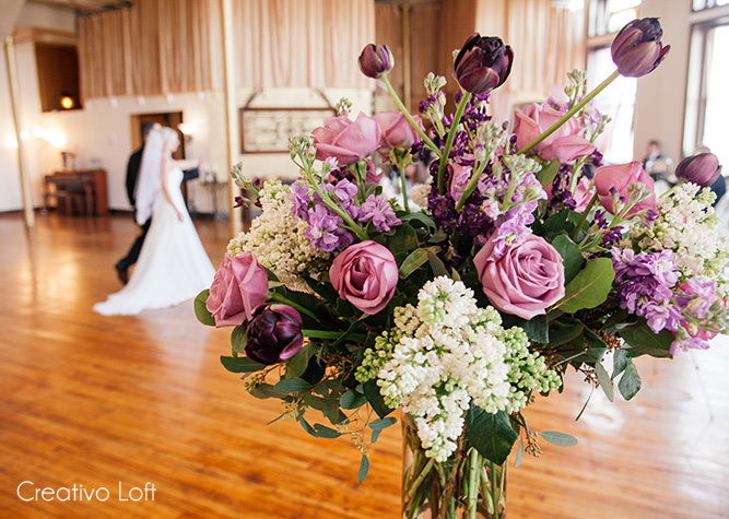 Here Is Some Inspiring Details From Our Weddings The Last Year Or So For Intimate Purple Hued
