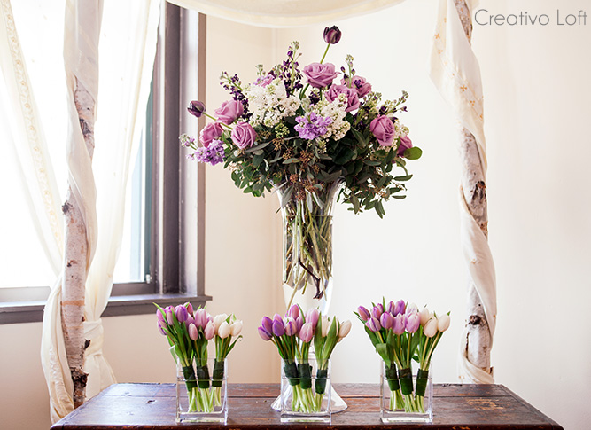 Purple Wedding Inspiration Spring 2015 Small Weddings Chicago