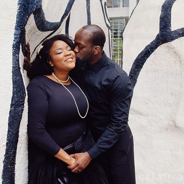 Congratulations newlyweds Segun and Phashari! #chicagoelopement #chicagoelopementphotography #elopement