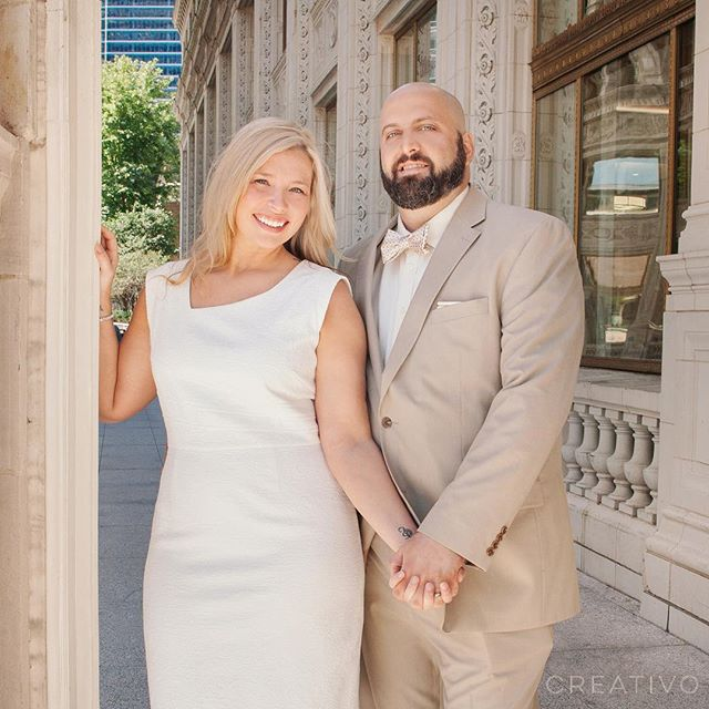 #Summer #elopement season is here! Break out the #tansuit for #chicagoelopements 🌞 #chicagoelopement #chicagoelopementphotographer #elopementwedding #elopementideas #summerelopement