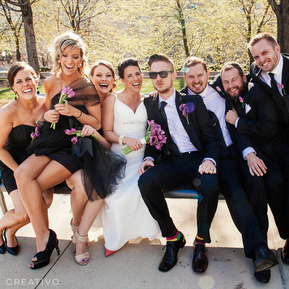 11. Chic Chicago elopement with your best friends