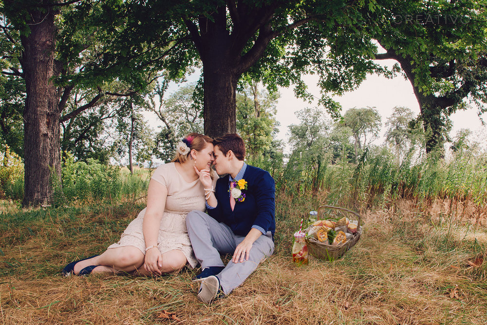 19. Picnic elopement in one of Chicago's many parks or along the shores of Lake Michigan