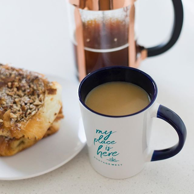 It's a coffee & pastry & staying cozy kind of day today! . . . . . #yyj #victoriabc #vancouverisland #portagewest #livelightly #findyourplace #welcomehome #yyjhousing #rental #apartments #gorgewaterway #esquimalt #viewroyal #waterfront #poolhouse #vacationrental #goodvibes #explorebc #coffee #goodmorning
