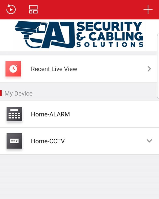 Both our Alarm and CCTV systems can be viewed remotely using the same smartphone application. This gives you complete piece of mind while you are away from your home or business.  #security #cctv #pieceofmind #alarms #pyronixenforcer #hikvision #securitysolutions #miltonkeynes  Contact AJ Security and Cabling Solutions on 07841 621645  www.ajsecuritysolutions.com