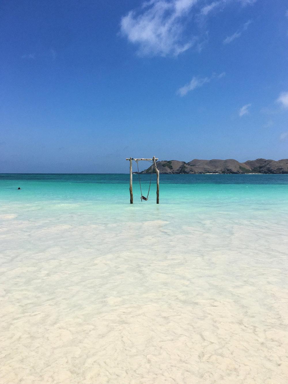 Dream Beach: Tanjung Aan im Süden Lomboks